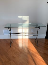 Glass console/TV stand and coffee table Toronto, M9B 1S2