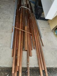LOTS OF COPPER-PIPE, FITTINGS AND VALVES