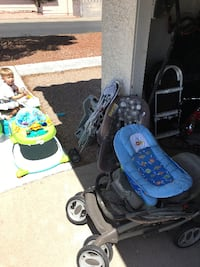 Lots of baby items