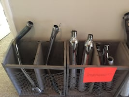 Many used mufflers still in great shape for sale.