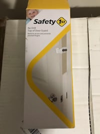 New, unused  Safety 1st NO DRILL TOP OF DOOR GUARD  St Thomas, N5R 6M6