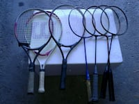 black and blue badminton rackets Markham, L3T 5G1