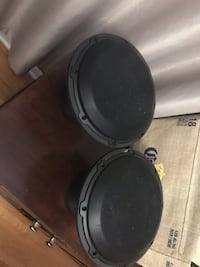 black and gray subwoofer speaker Winnipeg, R2X 0Z5