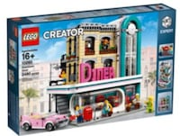 Lego Creator Expert Downtown Diner - New