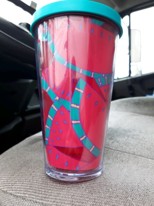 Starbucks  watermelon cup rare and hard to find  7feb4a5d-0f33-42cb-97d4-5429058cc348