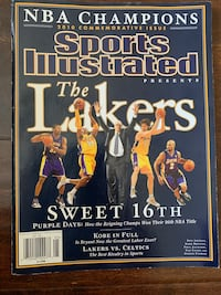 Sports Illustrated 2010 Lakers Championship.