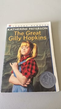 The Great Gilly Hopkins by Katherine Paterson  Clinton, 84015