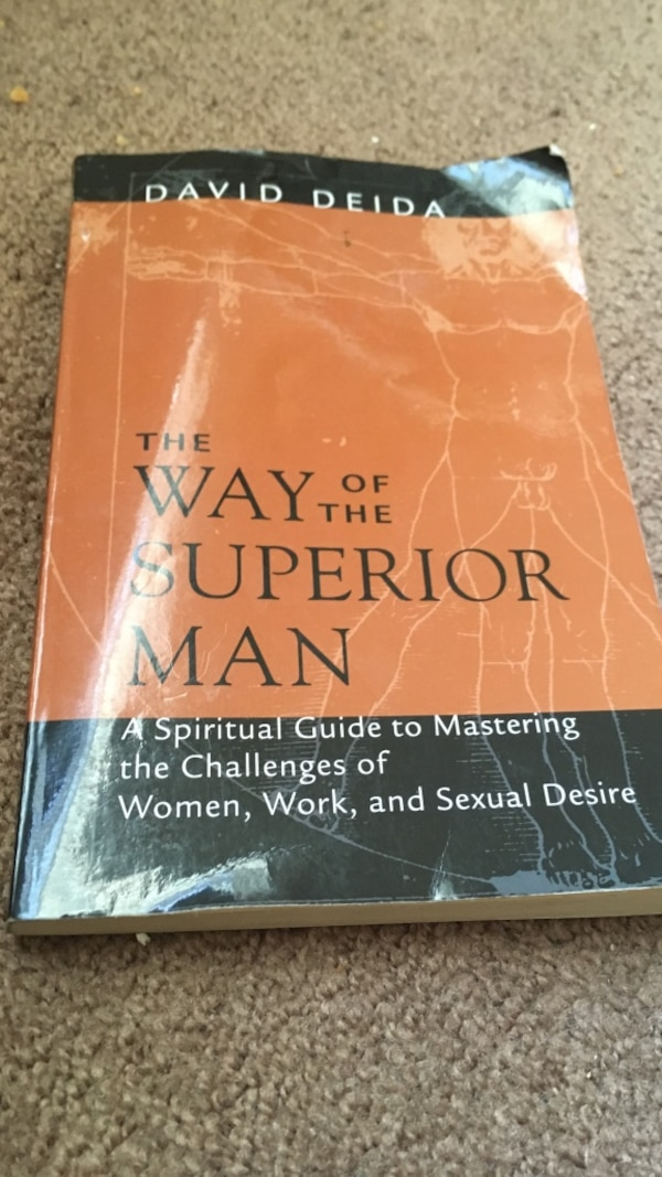Used The Way Of The Superior Man By David Deida For Sale In East