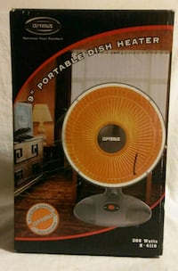 "OPTIMUS 9"" PORTABLE DISH HEATER Hesperia, 92345"