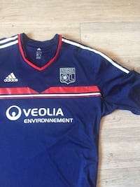 maillot Adidas bleu et orange Reims