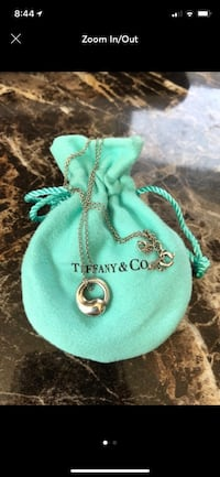 Authentic Tiffany & Co eternal circle necklace West Hurley, 12491