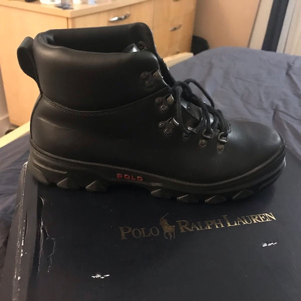 Men's polo boots size 10.5
