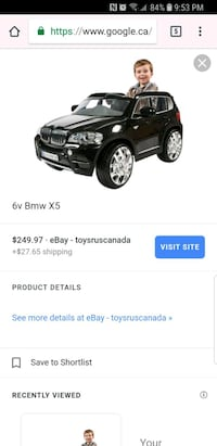 Little BMW for kids. Price is NOT negotiable! Calgary, T2M 2N4