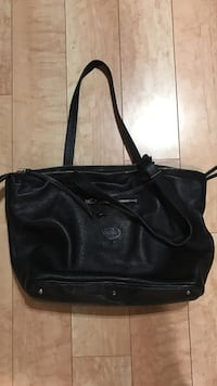 black leather tote bag Halifax, B3H 2S5