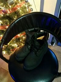 Black Timberland mens boots