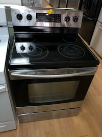 Stainless steel electric stove  47 km