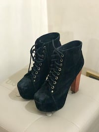 Jeffrey Campbell in camoscio chiuse Roma, 00186