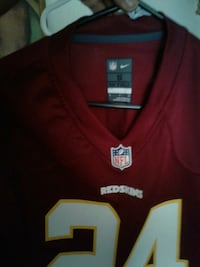 red and white NFL jersey Sacramento, 95824