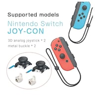 Joycon drift repair for nintendo switch Edmonton