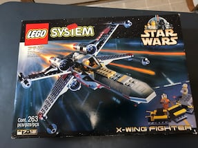 Star Wars Lego X Wing fighter