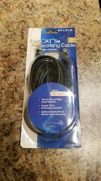 Fast Networking Cable Belkin 25 Ft Silver Spring, 20910