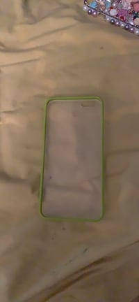 Pale green with frosted case for iPhone 6 Plus
