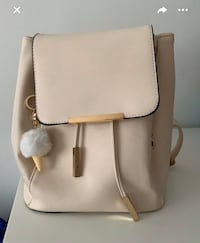 Cream Backpack