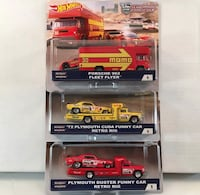 assorted-color die-cast model pack lot Whiting, 08759