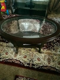 round glass top coffee table Johnston, 50131