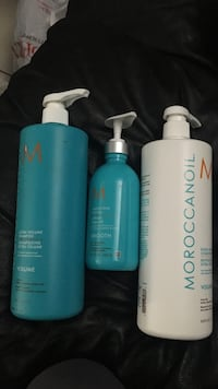 MOROCCANOIL EXTRA VOLUME SHAMPOO CONDITIONER AND SMOOTHING LOTION Edmonton, T5K 2L2