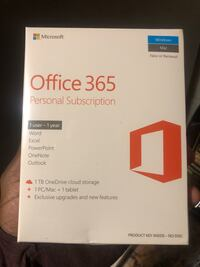 Microsoft office 1 year subscription New York, 11233