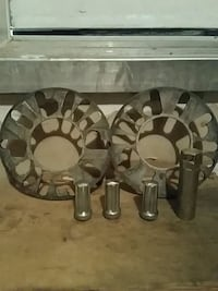 two round stainless steel car parts Courtice, L1E 2C7