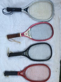 Lot of 4 Racquetball Racquets, Leach And Eagle, Excellent Condition Fairfax, 22031