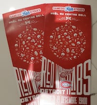 Pair Habs vs Red Wings tickets Dollard-des-Ormeaux, H9G 2L9