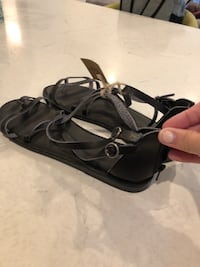 Size 11 American Eagle black sandals