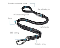 Brand new 4-6 ft Bungee Dog Leash Toronto, M5V 3S8
