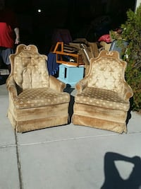 Twin vintage rocking chairs.  Henderson, 89014