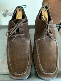 Tod's Suede Lace up loafers
