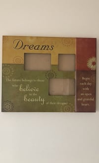 Wall decor picture frame
