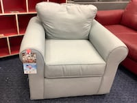 Rand New Light Blue Arm Chair by Klaussner Virginia Beach, 23462
