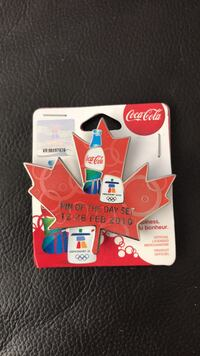 Coca-Cola Vancouver 2010 Olympics Maple Leaf Pin Richmond, V6Y 0A7