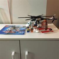 Lego City Coast Guard Helicopter #60013 Markham