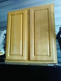 brown wooden cabinet with mirror Glassmanor, 20745