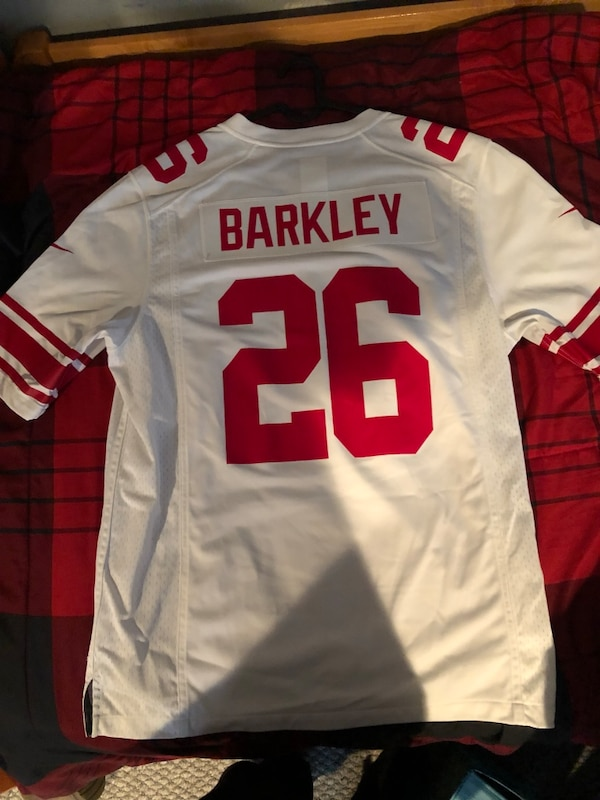 best sneakers b1580 7290e 100% Authentic Large Saquon Barkley Jersey