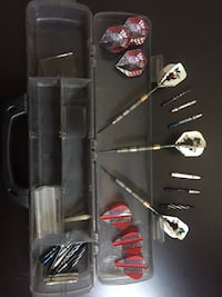 Selling my 28 Weight darts with extra flights and shafts  Ottawa, K1L 6B9