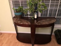 two brown wooden side tables Woodbridge, 22193