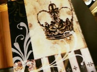 Crown Wall Art on Canvas Royalty Picture ROMEOVILLE