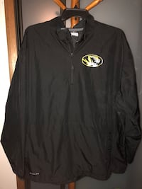 Mizzou 2X windbreaker jacket Pittsburgh