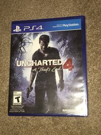 Uncharted 4: The Thief's End for PS4 Toronto, M4H 1C3
