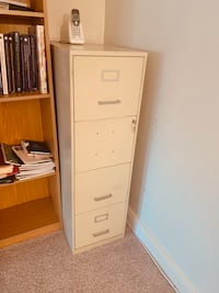 White office cabinet